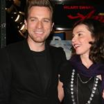 Ewan McGregor with wife Eve at the NYC premiere of Amelia 49095