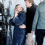 Ewan McGregor and Melanie Laurent on the set of The Beginner 55013