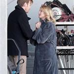 Ewan McGregor and Melanie Laurent on the set of The Beginner 55014
