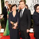Ewan McGregor and wife Eve at the 2012 Golden Globe Awards 103016