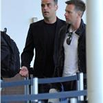 Ewan McGregor and Robbie Williams at LAX May 2010 62316