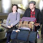 Ewan McGregor and wife Eve arrive at LAX 49206