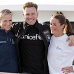 Zara Phillips, Ewan McGregor and Natalie Pinkman at Artemis Challenge at Cowes Week  91792