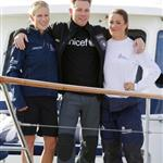Zara Phillips, Ewan McGregor and Natalie Pinkman at Artemis Challenge at Cowes Week  91793