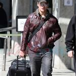 Peter Facinelli arrives in Vancouver 36709