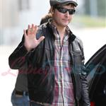Peter Facinelli arrives in Vancouver to prep for Eclipse 44072