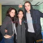 Kristen Stewart and Robert Pattinson with Martina 38265