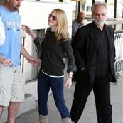 Dakota Fanning at LAX en route to Vancouver 38497
