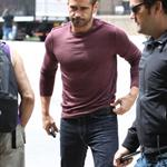 Colin Farrell on the set of Dead Man Down in New York  119246