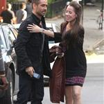 Colin Farrell on the set of Dead Man Down in New York  119254