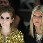 Gwyneth Paltrow with Emma Watson front row at Burberry 47460