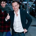 Michael Fassbender at The Late Show with David Letterman 103391