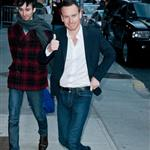 Michael Fassbender at The Late Show with David Letterman 103392