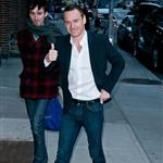Michael Fassbender at The Late Show with David Letterman 103393