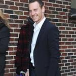 Michael Fassbender at The Late Show with David Letterman 103395