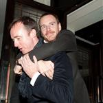 Michael Fassbender had a few and a good time at Dangerous Method afterparty in London  104657