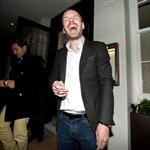 Michael Fassbender had a few and a good time at Dangerous Method afterparty in London  104658