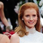 Jessica Chastain at the 2012 Golden Globe Awards 102809