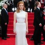 Jessica Chastain at the 2012 Golden Globe Awards 102810