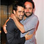 Colin Farrell Dave Matthews at VitaminWater rooftop CAA party  94060