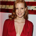 Jessica Chastain at VitaminWater rooftop CAA party  94061