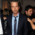 Gerard Butler at VitaminWater rooftop CAA party  94062