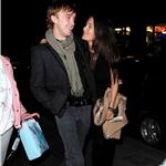 Tom Felton leaves Nobu with his girlfriend Jade  59145