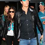 Fergie and Josh Duhamel at the final Dolphins game of the season 52845
