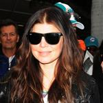 Fergie and Josh Duhamel at the final Dolphins game of the season 52848