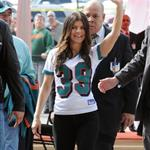 Fergie and Josh Duhamel at the final Dolphins game of the season 52854