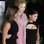 Fergie, Pene, and Nicole Kidman at the Nine Hollywood premiere 52002