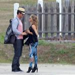 Fergie and Josh Duhamel arrive in St Barts for NYE 2010  75949