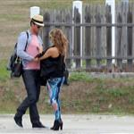 Fergie and Josh Duhamel arrive in St Barts for NYE 2010  75953
