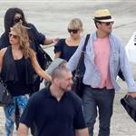 Fergie and Josh Duhamel arrive in St Barts for NYE 2010  75960