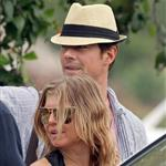 Fergie and Josh Duhamel arrive in St Barts for NYE 2010  75968