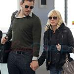 TIFF Photos: Anna Faris, Chris Pratt leave Toronto. Photos from PUNKD Images. 93948