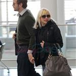 TIFF Photos: Anna Faris, Chris Pratt leave Toronto. Photos from PUNKD Images. 93951