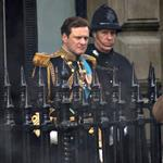 Colin Firth on set and in uniform for The King's Speech 51076