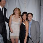 Kyle Chandler Connie Britton Minka Kelly Zach Gilford represent Friday Night Lights at the NBC Universal Experience 20485