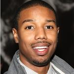 Michael B Jordan at Super Bowl party in Dallas 78603
