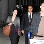 TIFF Photos: Megan Fox and Brian Austin Green arrive in Toronto. Photos from PUNKD Images. 93699