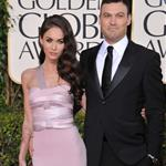 Megan Fox and Brian Austin Green at the Golden Globes 2011  76886