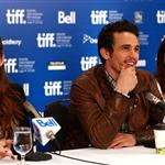 James Franco and cast at the '127 Hours' press conference at the Hyatt Regency.  Photos from Joe Scarnici/Getty Images Entertainment 68598