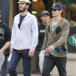 James Franco goes to see Predators in Vancouver 64971