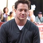 Nasty ugly Brendan Fraser promoting Mummy 3 23059