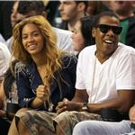 Beyonce fresh faced at Cavs Celtics game with Jay-Z 60655