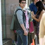 Joe Jonas worst pants ever on the set of Chasing Butterflies  55282