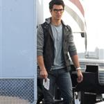 Joe Jonas worst pants ever on the set of Chasing Butterflies  55280