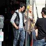 Joe Jonas worst pants ever on the set of Chasing Butterflies  55284