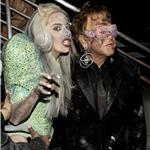 Lady Gaga and Elton John at the Grammy Awards 2010 54428